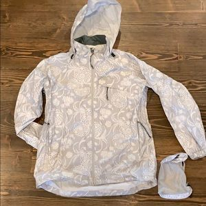 Red Lodge Packable Rain Jacket With Pockets